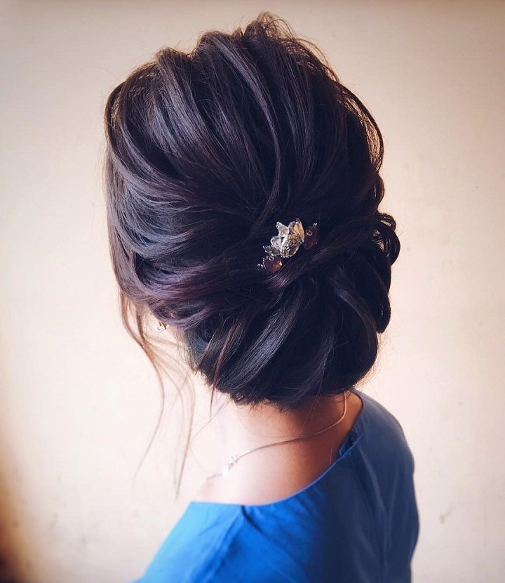 Best 25 straight hair updo ideas on pinterest easy chignon chic wedding updo for straight hair to inspire you pmusecretfo Image collections