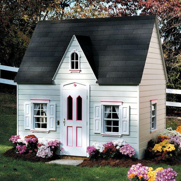 Princess Children's Cottage Playhouse-Princess Children's Cottage Playhouse,luxury outdoor playhouse,do-it-yourself playhouse,kids playhouse...