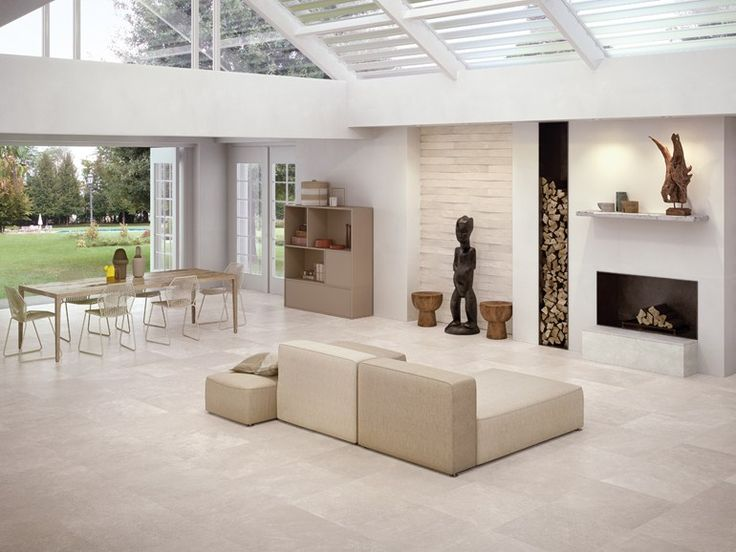 Indoor porcelain stoneware wall/floor tiles CODE IVORY by CERAMICHE KEOPE