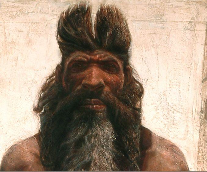 Homo Heidelbergensis   Reconstrucción de Homo Heidelbergensis - Kennis & Kennis ...