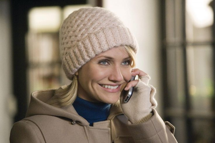 Cameron Diaz in The Holiday. I want her entire wardrobe - it's a great look!