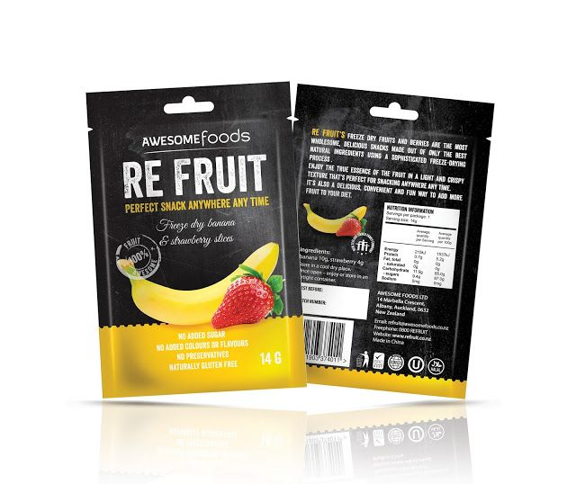 RE FRUIT on Packaging of the World - Creative Package Design Gallery