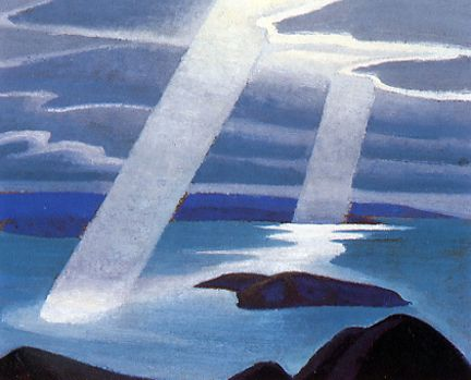 "Lawren Harris ""Lake Superior Sketch II"" c.1924"
