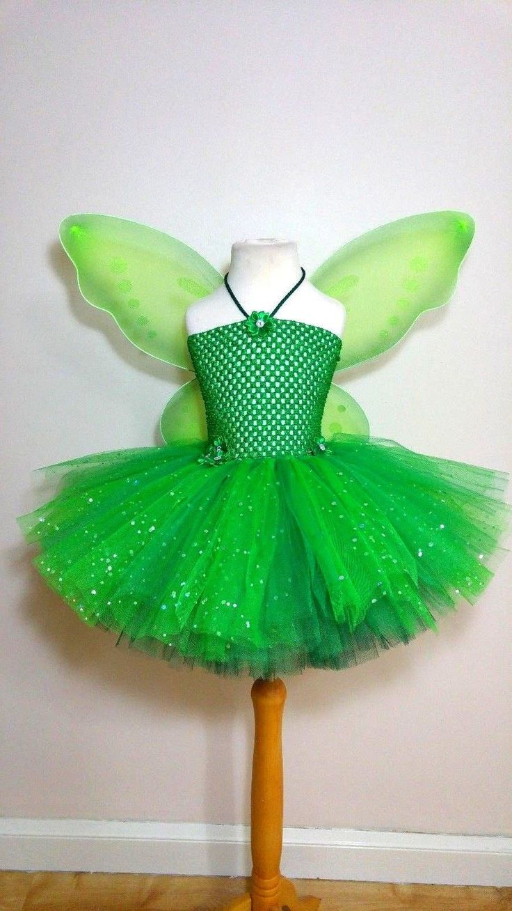 Fairy tutu outfit - #costume #tinkerbell wings fairies dress up #party birthday, View more on the LINK: http://www.zeppy.io/product/gb/2/172285881167/