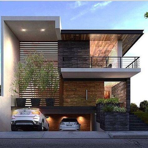 160 Imagens de Fachadas de Casas Modernas, Minimalistas e Pequenas – Inform …   – Architecture