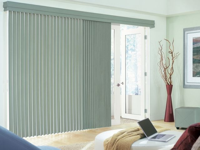 Hunter Douglas Cadence Soft Vertical Blinds With Permatilt Wand Control System