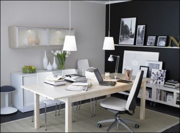 Focus On Key Components To Ensure A Pleasant Workplace. Home Office ...
