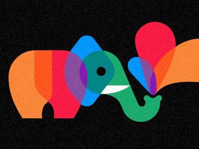 Playful Pachyderm by Chris Parks