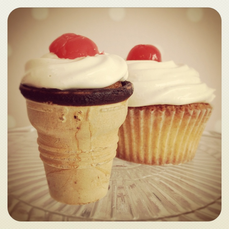 Dr. Pepper Cherry Vanilla Cupcakes