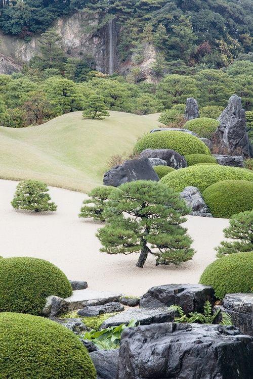 Adachi Garden, Yasugi, Japan