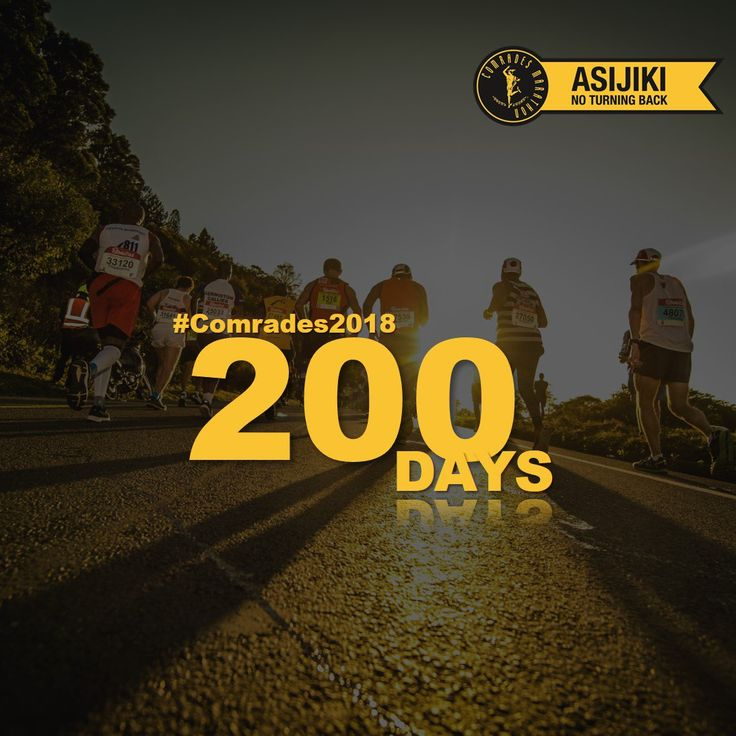 """Comrades Marathon on Twitter: """"Fortune favours the prepared mind. We're 200 days away from #Comrades2018 👊😎👊 https://t.co/c2BpDPz9XA"""""""