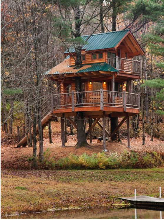 They have come to fruition in larger-than-life ways and, sometimes, can  even cost you a pretty penny to stay in. From treehouse hotels .