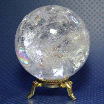 Quartz crystal ball -> Place this crystal ball in your home to:       Clean the atmosphere of negative energies   Cleanse your other stones   Amplify the energy of your healing stones   Use it as a meditation tool, aura cleansing