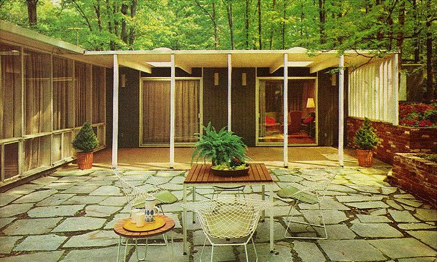136 Best Courtyards Mid Century Modern Images On Pinterest