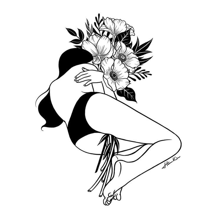 Le noir et blanc rêveur de Henn Kim