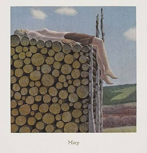 May, 1979, Alex Colville. (1920 - 2013)
