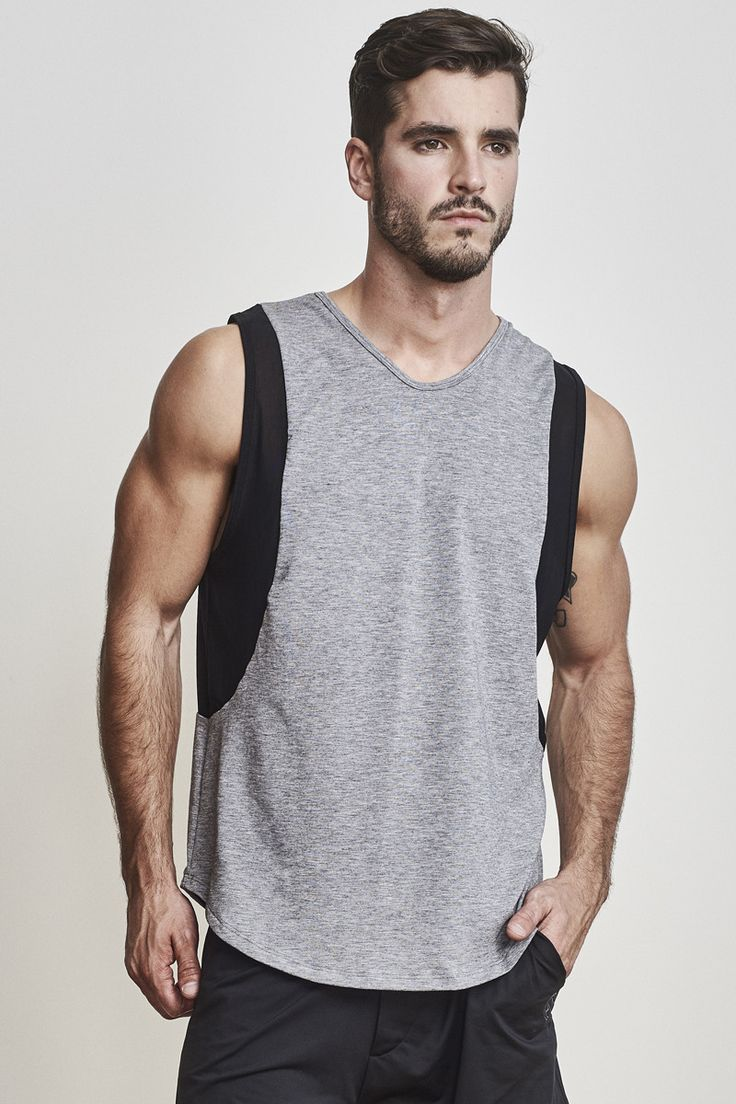 EYSOM Elevated Muscle Tee [Heather Grey]