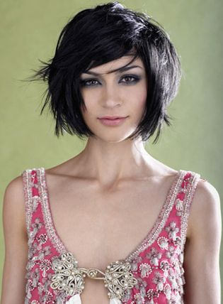 Short Hairstyles For Thick Short Hairstyles For Thick Hair. Wonder if I could pull off something this edgy?