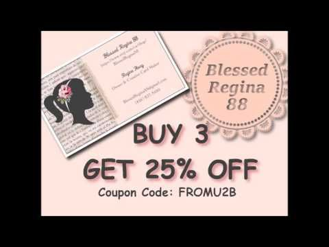 Buy 3 Get 25% OFF - Handmade Greeting Cards Etsy Shop - YouTube