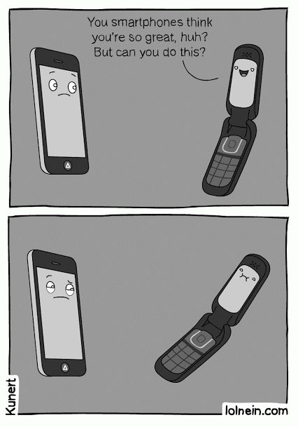 Tranditional Phone's pride! Anyway, smartphone is the pop star now! BTW, more about Android phone tips here: http://www.any-data-recovery.com/topics/mobile-devices/android-recovery.html