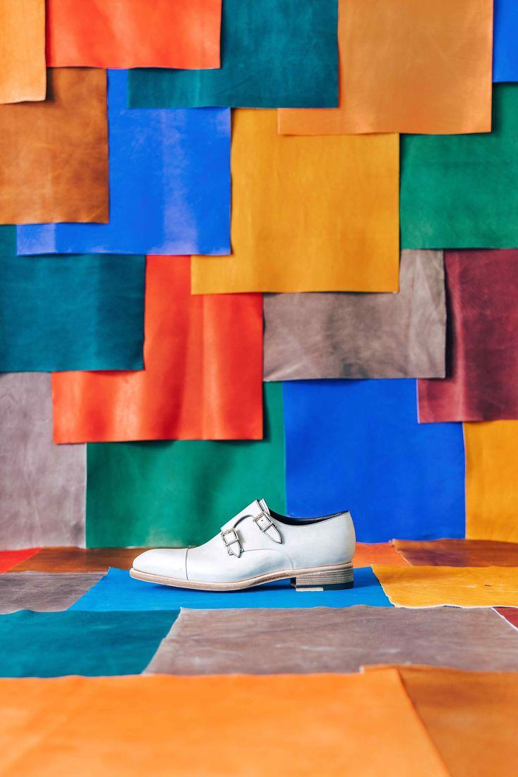 Tales of colours. Ph Simone Bramante #Santoni #SantoniShoes #TalesOfColours #Brahmino