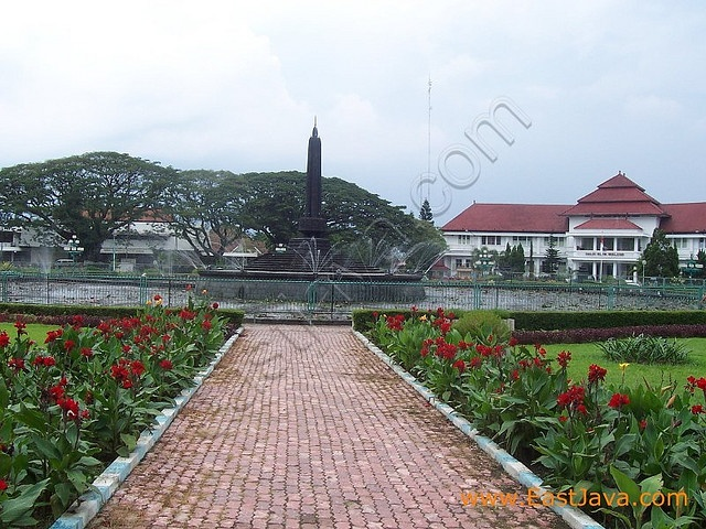 City Park --- Malang East Java-- Indonesia
