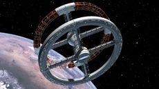 ■たっぷり宇宙ステーション5CG動画;2001年宇宙の旅: 万象酔歩