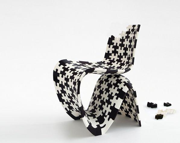 3ders.org - Joris Laarman 3D printed first metal chair, introducing 3D printed chair you can download now | 3D Printer News & 3D Printing News
