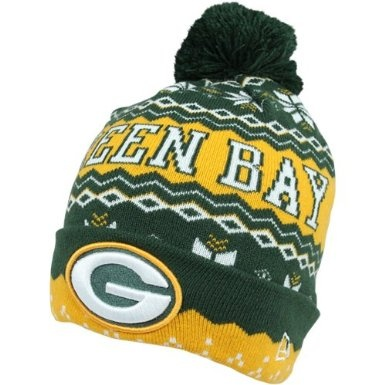 Amazon.com: Green Bay Packers New Era Weather Advisory Knit Hat with Pom: Clothing