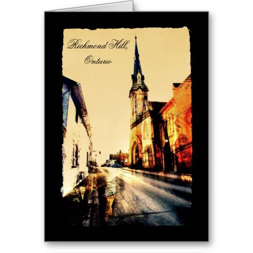 Richmond Hill, Ontario, United Church Greeting Card