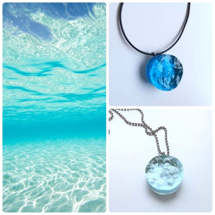Limited Edition Blue Ocean Necklace
