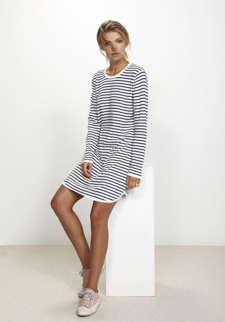 Salty Stripe Dress http://www.nineteen46.co.nz
