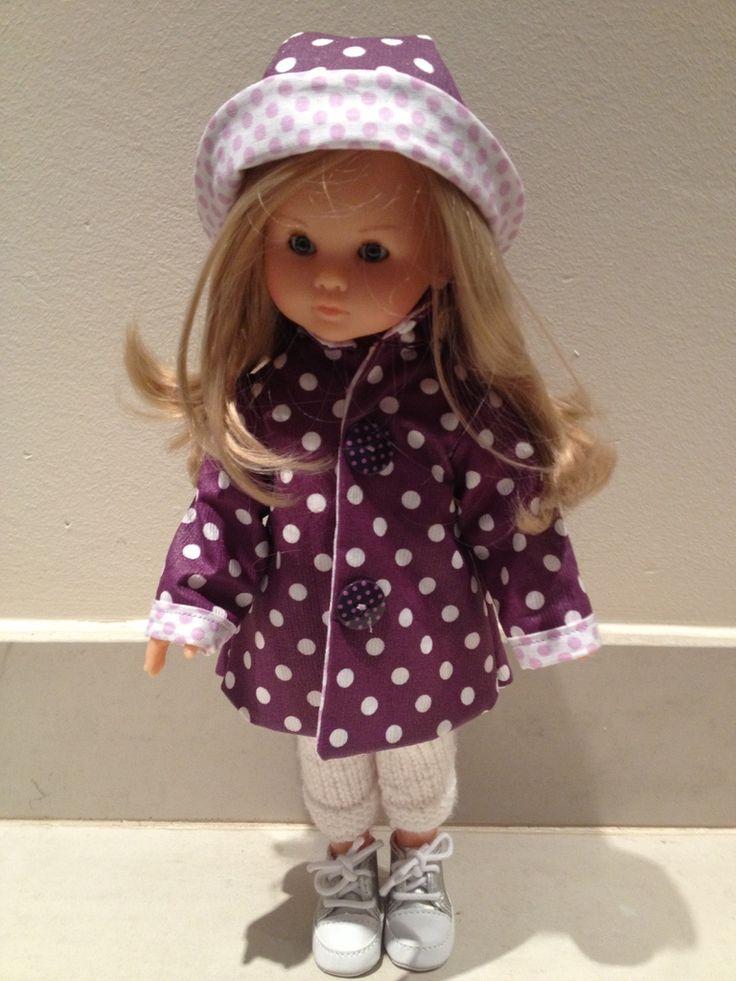 Nous voulions vous présenter le tout nouveau blog de Mimi, qui partage avec nous la passion des Ché ries : Les chéries de Mimi Elle aussi craque pour les Chéries, elle a d'aillleurs utilisé notre patron du petit imper :Elle l'a assorti à un petit chapeau...