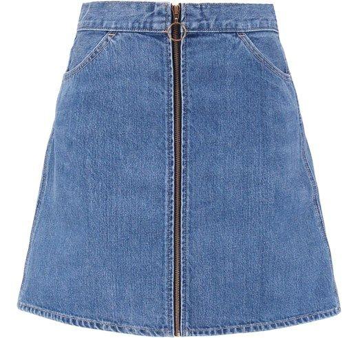 Levi's® Faldas Skirts Fence El Jumper Orange Zalando Minifalda Azul Vaqueras Tab rzqBFwr1