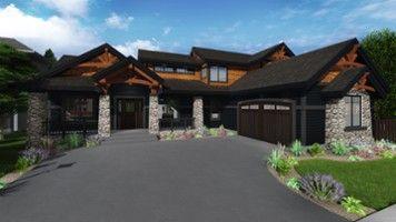 House designs- Lakeside Home - Boss Design Ltd. in Edmonton, AB