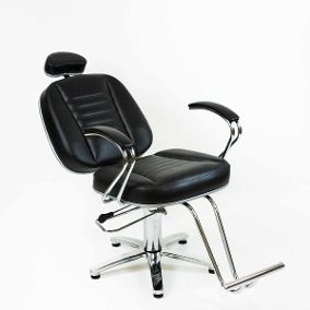 Poltrona Cadeira Turquesa Reclinavel Hidraulica Cabeleireiro