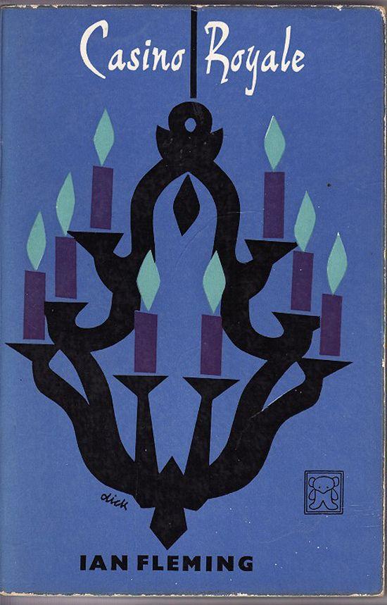 Dick Bruna's cover design for Ian Fleming's Casino Royale.
