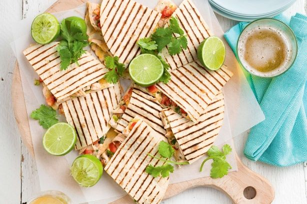 A simple and easy quesadillas that takes 20 minutes to make and will have the whole family wanting more.