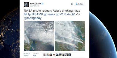 Saliagu - Blog Seputar Informasi: Foto Satelit NASA Ungkap Parahnya Kabut Asap Indon...
