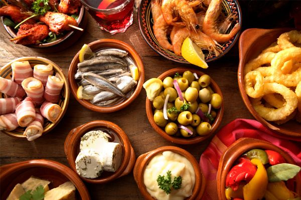 Host a Spanish Tapas Party. Party ideas, recipes.
