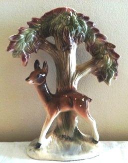 (832) Fawn Deer lamp