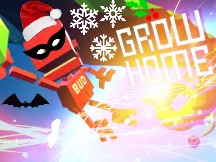 Grow Home: Skydiving With A Sheep From Space,Flower Parachute+ More!!
