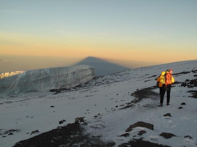 Reaching the Kilimanjaro summit