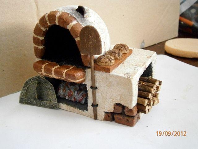 Foro de Belenismo - Miniaturas, detalles y complementos -> Mi pequeño horno…