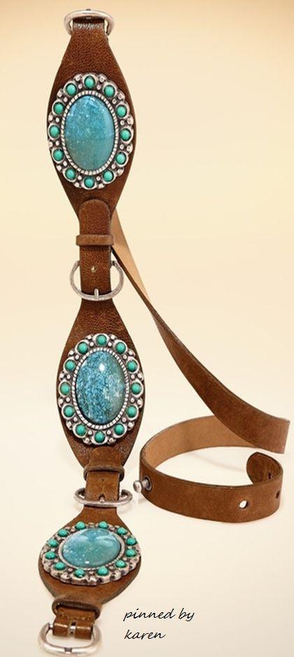 Diamond Cowgirl ~ Turquoise