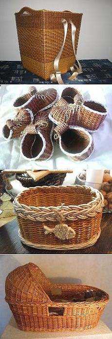 Фотографии с чешского сайта .Идеи для плетения.