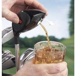Golf Club Drink Dispenser. Need to get this for my boyfriend a.s.a.p.
