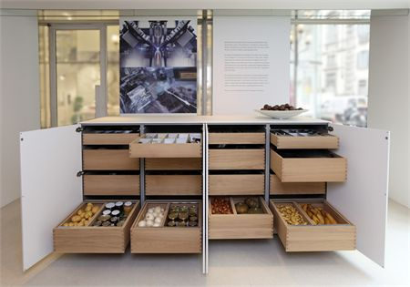 Scandinavian food storage and organization; Baulthaup