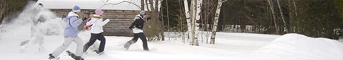 Snowshoe Ganaraska  + Check out our Snowshoe for Two Bundle http://www.cleverbundle.com/bundles/showshoe-for-two