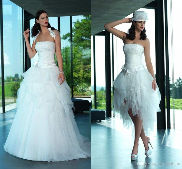 13 best Wedding images on Pinterest   Short wedding gowns, Wedding ...